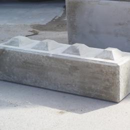 Betonstapelblok afmeting 160 x 40 x 40 cm (500 kg)
