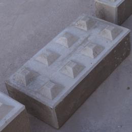 Betonstapelblok afmeting 160 x 80 x 40 cm (1050 kg)