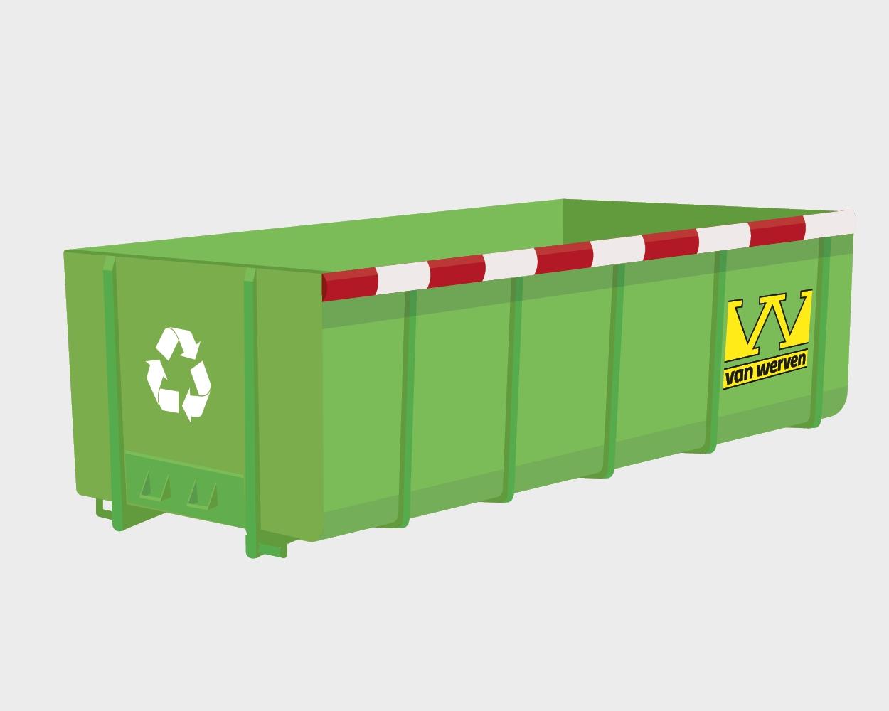 'Circulaire container' geeft bouwmaterialen een tweede leven