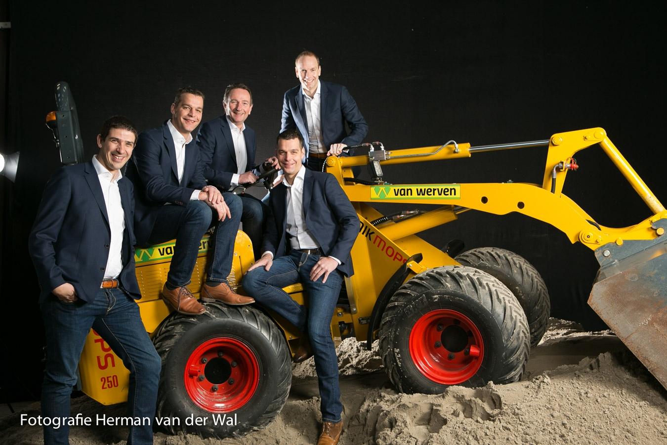 Derde generatie neemt leiding bij familiebedrijf Van Werven
