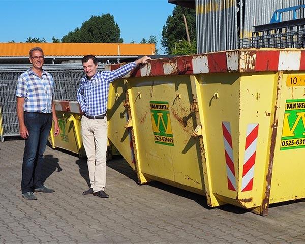 Dijkhuis en Van Werven gaan voor maximale afvalscheiding