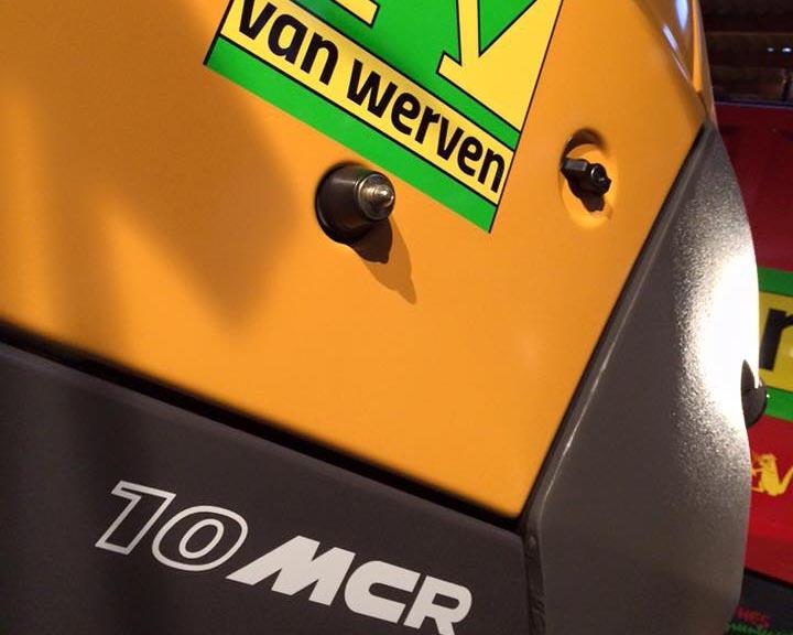 Eerste Mecalac 10MCR voor Van Werven