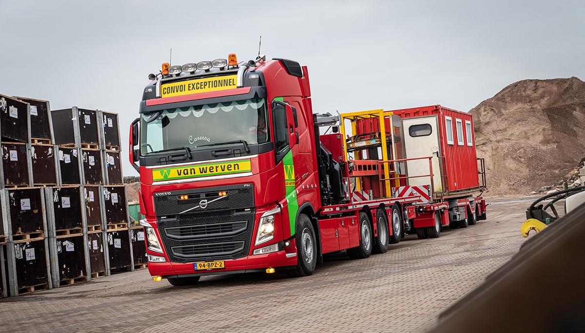 Eerste Volvo FH-trucks voor Van Werven