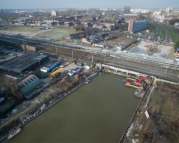 Genap en Van Werven werken samen in Foliebouwkuip b.v.
