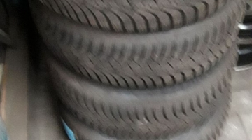 4 x Goodyear winterbanden 20555R16