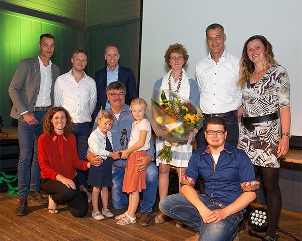 Jan van Werven na 40 jaar met pensioen