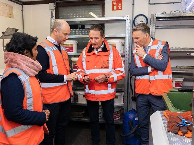 Minister uit Australië op bezoek bij Van Werven Plastic Recycling