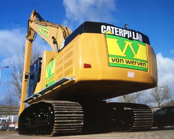 Nieuw materieel: CAT 340FL en CAT 352FL
