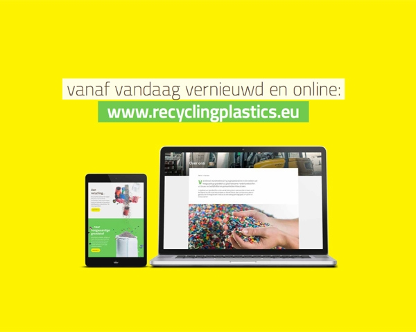 Nieuwe website voor kunststofrecycling: recyclingplastics.eu