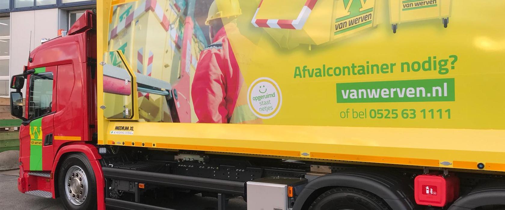 Nieuwe vrachtwagens Van Werven