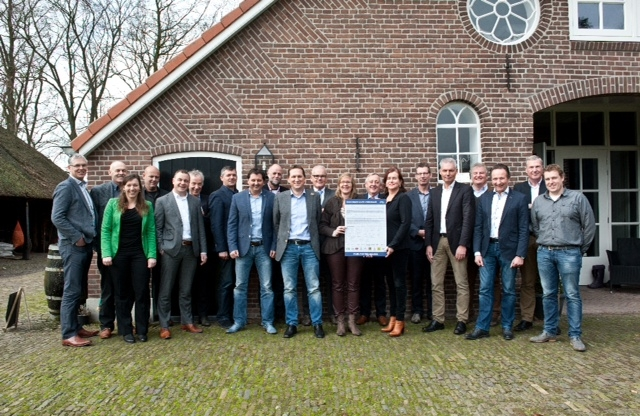 'Noordwest Veluwe verduurzaamt' ondertekent convenant MVO