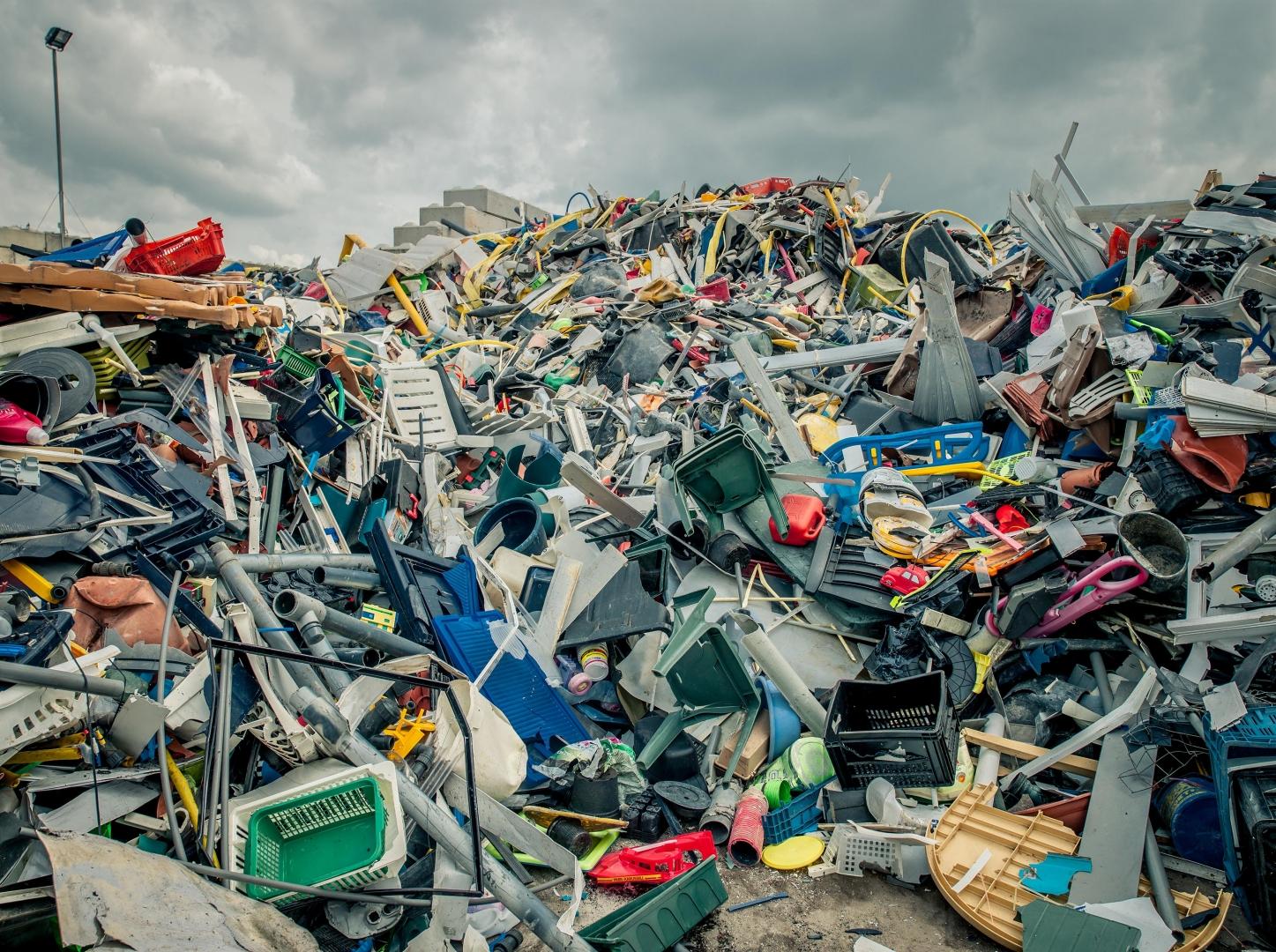 Plastic berg is niet nodig