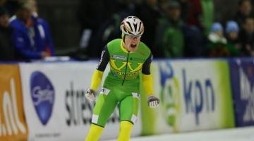 Schaatsteam Van Werven wint met Rick Smit in Eindhoven