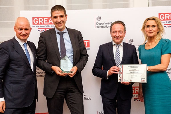 Sustainable Investment Award uitgereikt aan Van Werven