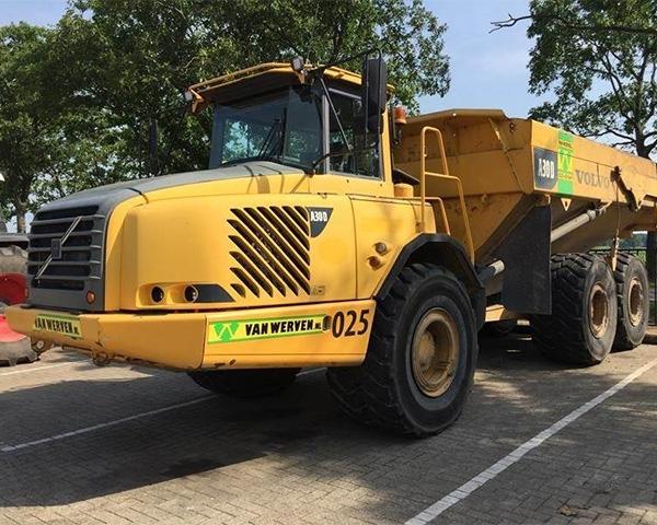Troostwijk veilt overtollig materieel Van Werven