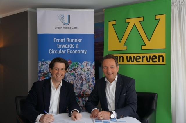 Urban Mining Corp en Van Werven werken gezamenlijk aan hoge kwaliteit