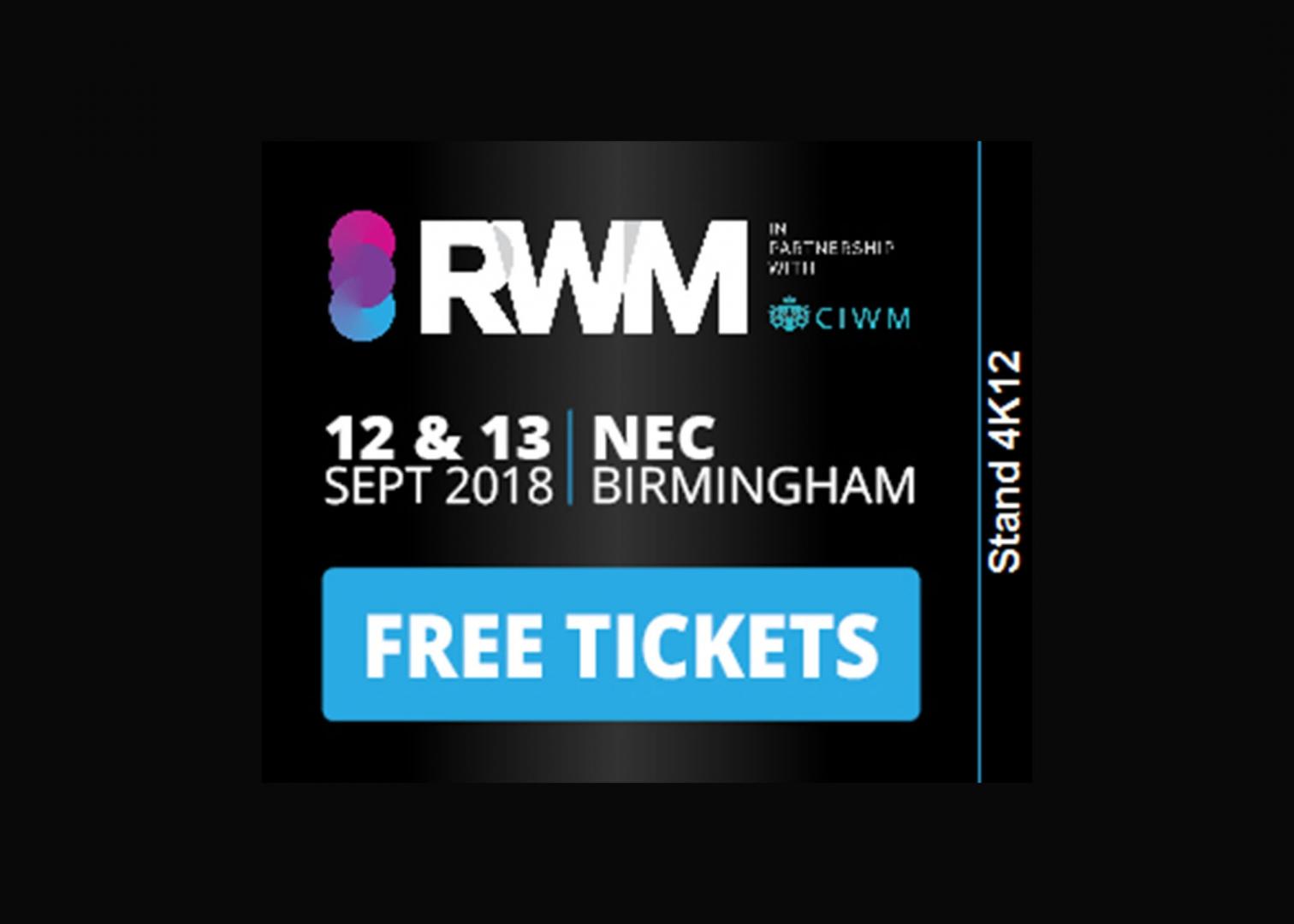 Van Werven aanwezig op RWM beurs in Birmingham