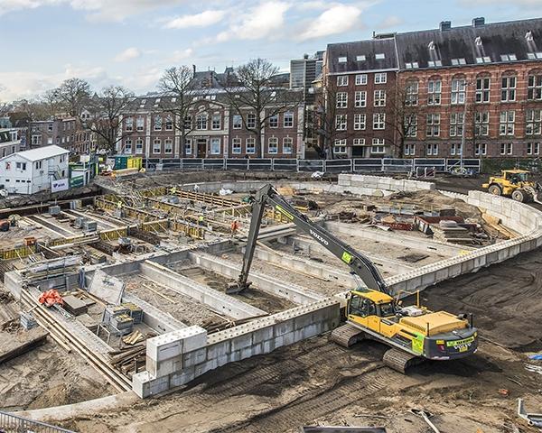 Van Werven bouwt mee aan parkeergarage Garenmarkt in Leiden