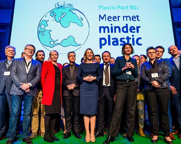 Van Werven ondertekent Plastic Pact NL
