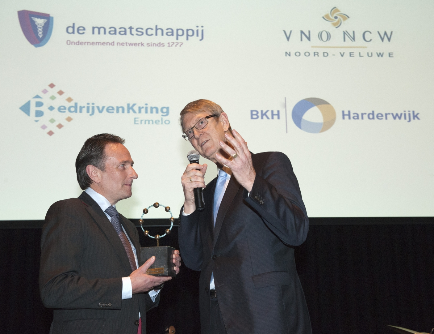 Van Werven ontvangt Linnaeus-onderscheiding