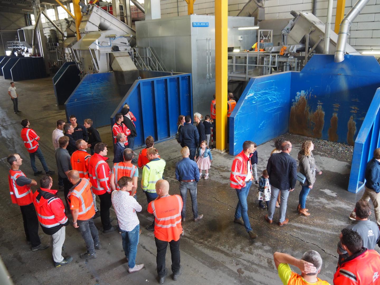Van Werven opent vijfde recyclinglijn in Biddinghuizen