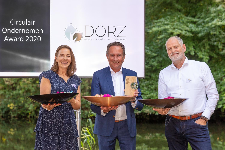 Van Werven Plastic Recycling wint Circulair Ondernemen Award 2020