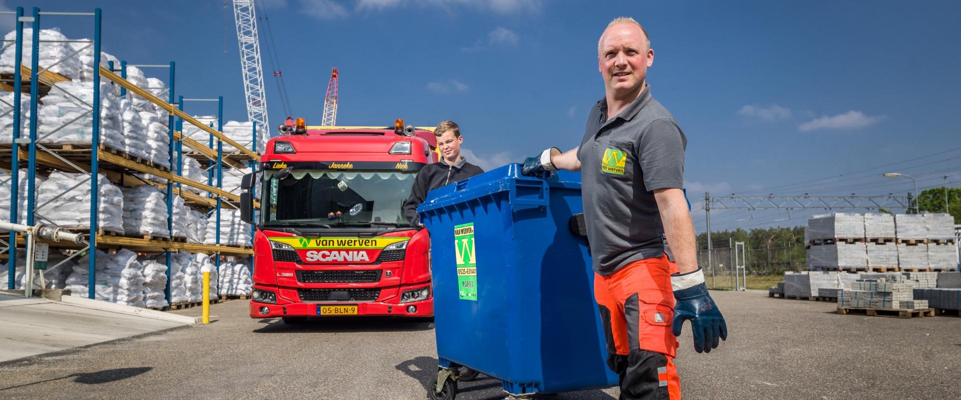 Van Werven tekent nieuw contract tijdens vakbeurs Recycling
