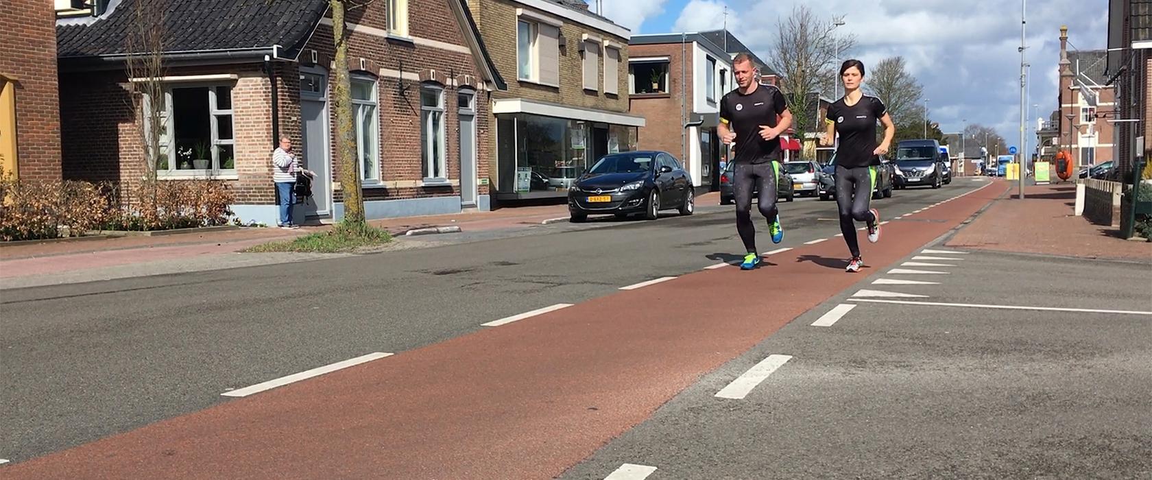 vanwervenkleding.nl uitgebreid met unieke runningkleding
