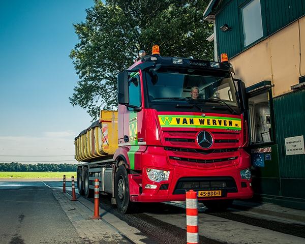 Vervanging weegbrug Recycling Van Werven Harderwijk
