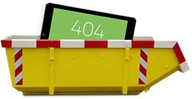 404, deze pagina is niet gevonden