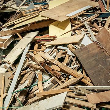 Monostroom hout
