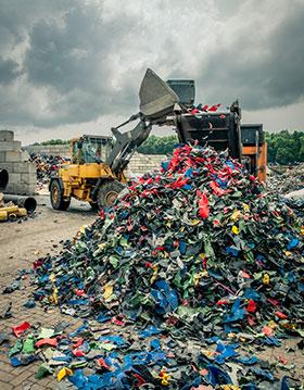 Recycling bij Van Werven